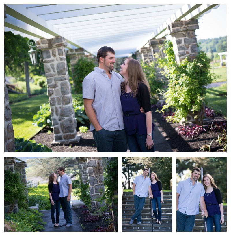 Masonic Village Gardens Engagement Photos_0003